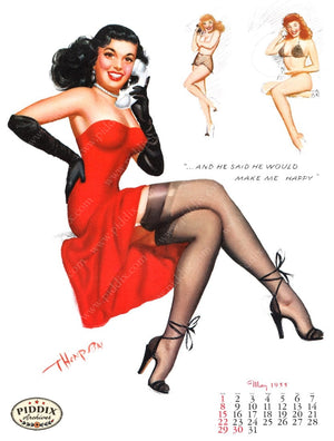Pdxc4882 -- Pin-Ups Color Illustration