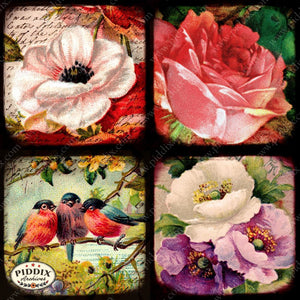 Pdxc5151A -- Flora & Fauna Original Collage