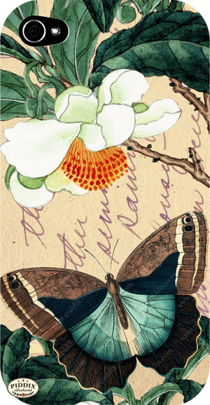 Pdxc5731 Butterfly Botanical Original Collage