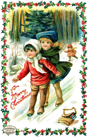 PDXC6077 -- Christmas Color Illustration