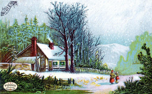 Pdxc6102 -- Snowy Scenes Color Illustration