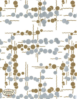 Pdxc6247 -- Mid-Century Patterns Color Illustration