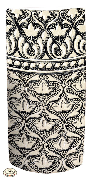 Pdxc6501 -- Patterns Black & White Lithograph