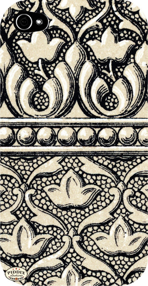 Pdxc6501 -- Patterns 1800S Black & White Lithograph