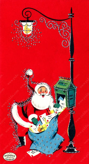 PDXC6686 -- Santa Claus Color Illustration