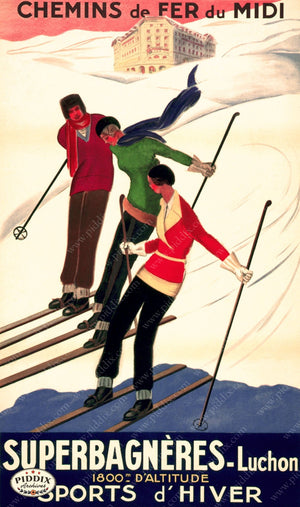 Pdxc7301 -- Vintage Travel Posters Poster