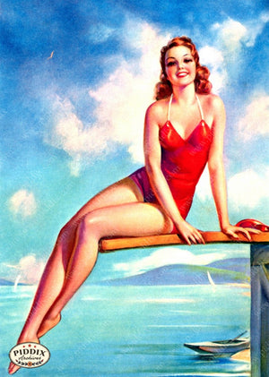 Pdxc7749 -- Pin-Ups Color Illustration