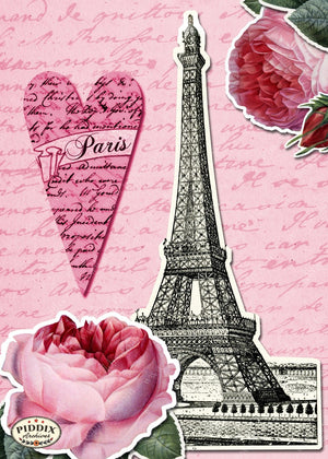 Pdxc7900 -- City Of Love Original Collage