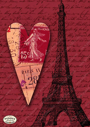 Pdxc7902 -- City Of Love Original Collage