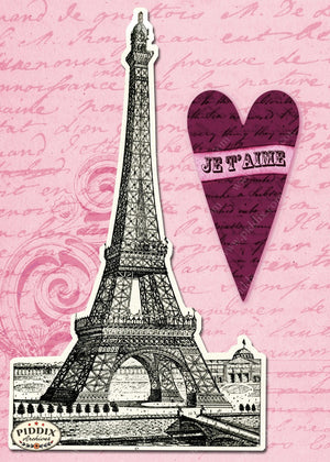 Pdxc7903 -- City Of Love Original Collage