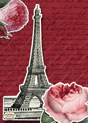 Pdxc7904 -- City Of Love Original Collage