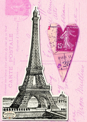 Pdxc7905 -- City Of Love Original Collage