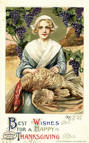 Pdxc7921 -- Thanksgiving Postcard