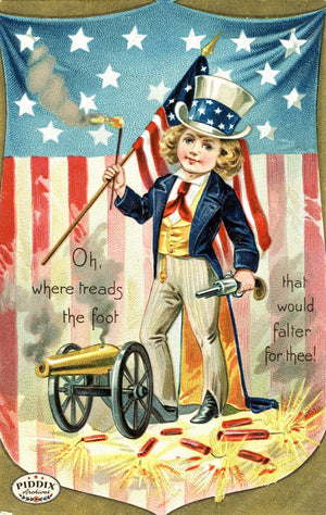 Pdxc7932 -- Fourth Of July Postcard