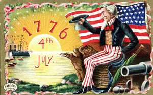 Pdxc7933 -- Fourth Of July Postcard