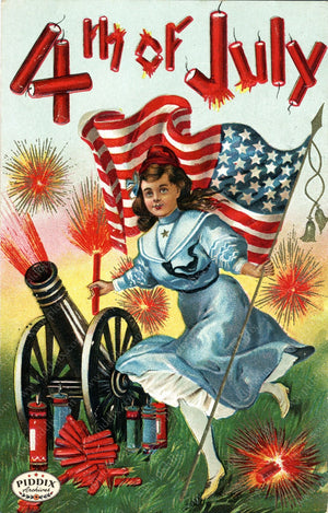 Pdxc7934 -- Fourth Of July Postcard