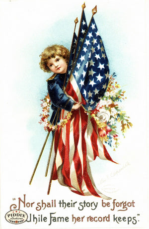 Pdxc7938 -- Fourth Of July Postcard