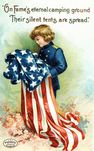 Pdxc7940 -- Fourth Of July Postcard