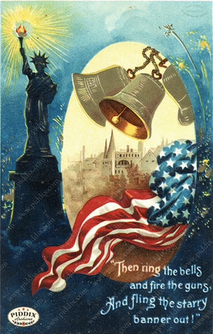 Pdxc7942 -- Fourth Of July Postcard
