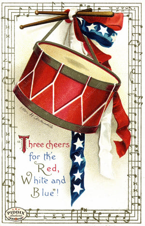 Pdxc7943 -- Fourth Of July Postcard