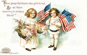 Pdxc7946 -- Fourth Of July Postcard