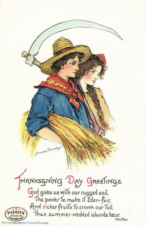 Pdxc7949 -- Thanksgiving Postcard
