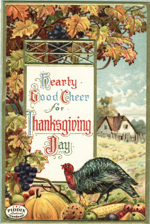 Pdxc7950 -- Thanksgiving Postcard
