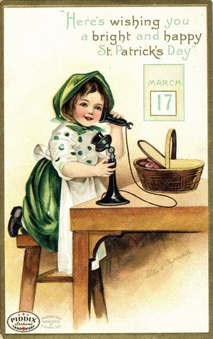 Pdxc7955 -- St. Patricks Day Postcard