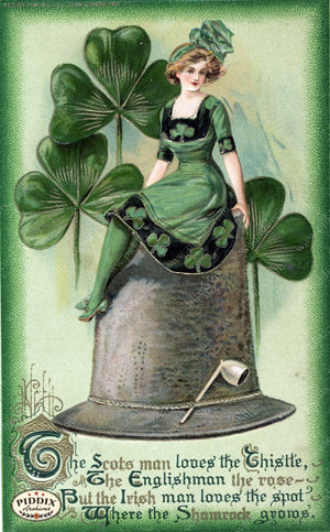 Pdxc7956 -- St. Patricks Day Postcard