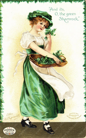 Pdxc7957 -- St. Patricks Day Postcard