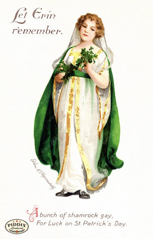 Pdxc7958 -- St. Patricks Day Postcard