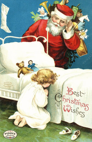 Pdxc7988 -- Santa Claus Color Illustration