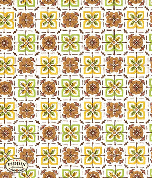 Pdxc8093 -- Mid-Century Patterns Color Illustration