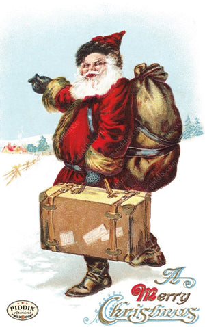 Pdxc8099 -- Santa Claus Color Illustration
