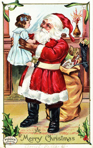 Pdxc8115 -- Santa Claus Color Illustration