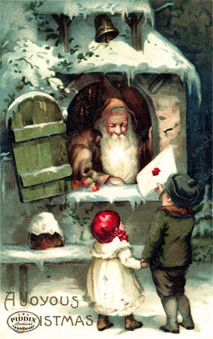 Pdxc8120 -- Santa Claus Color Illustration