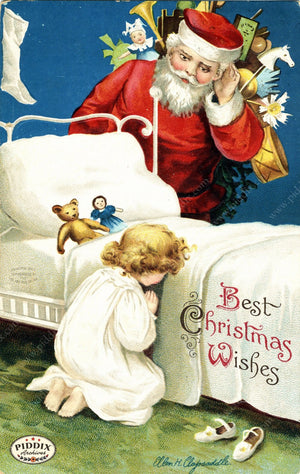 Pdxc8122 -- Santa Claus Color Illustration