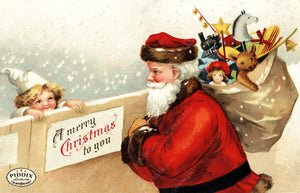 Pdxc8155 -- Santa Claus Color Illustration