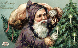 Pdxc8163 -- Santa Claus Color Illustration