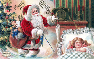 Pdxc8166 -- Santa Claus Color Illustration