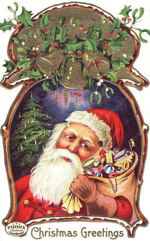 Pdxc8172 -- Santa Claus Color Illustration