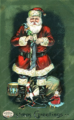 Pdxc8174 -- Santa Claus Color Illustration