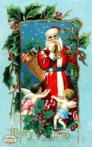 Pdxc8184 -- Santa Claus Color Illustration