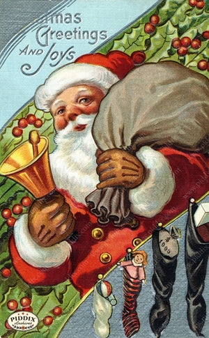 Pdxc8186 -- Santa Claus Color Illustration