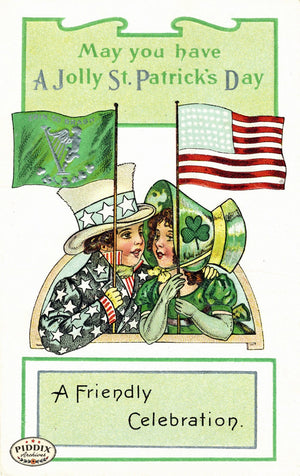 Pdxc8343 -- St. Patricks Day Postcard