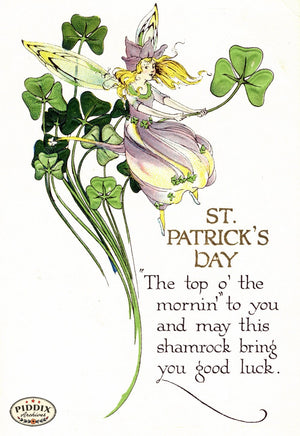 Pdxc8345 -- St. Patricks Day Postcard