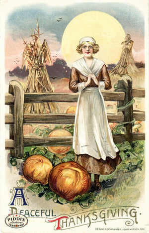 Pdxc8347 -- Thanksgiving Postcard