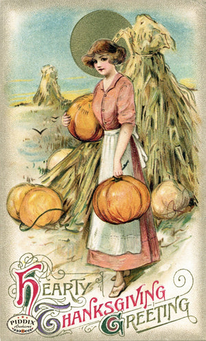 Pdxc8348 -- Thanksgiving Postcard
