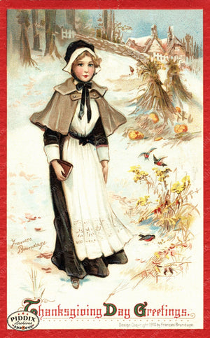 Pdxc8351 -- Thanksgiving Postcard