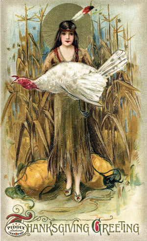 Pdxc8354 -- Thanksgiving Postcard